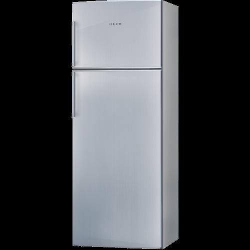 R frig rateur cong lateur 2 portes inox r f bosch Refrigerateur congelateur 2 portes